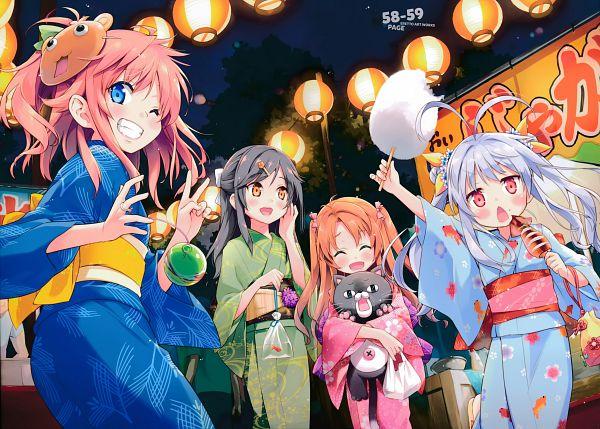 Tags: Anime, Eretto, Non Non Biyori, Utsura Uraraka - Eretto Art Works -, Koshigaya Natsumi, Ichijou Hotaru, Miyauchi Renge, Koshigaya Komari, Scan
