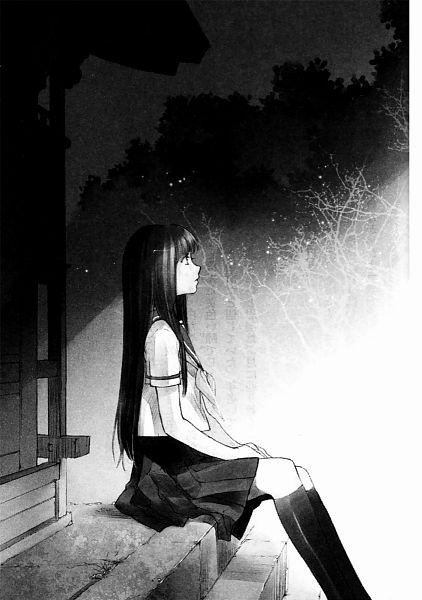 Tags: Anime, Shiina Yuu, Sakurada Reset, Nonoo Seika, Scan, Novel Illustration, Official Art