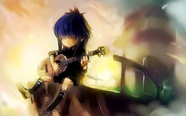 Tags: Anime, ukyo_rst, Noodle (Gorillaz), Gorillaz