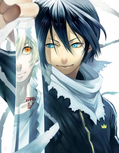 Tags: Anime, Watagashi710, Noragami, Yukine (Noragami), Yato (Noragami), Fanart, Tumblr