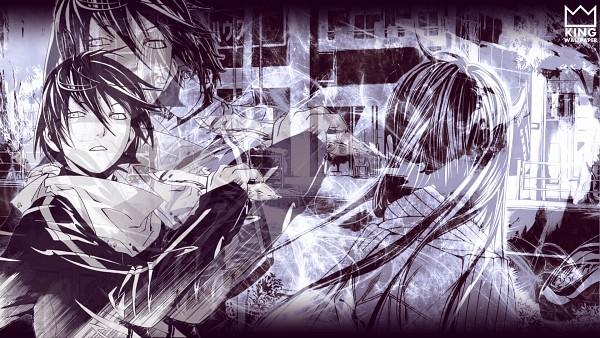 Tags: Anime, Kingwallpaper, Noragami, Iki Hiyori, Yato (Noragami), Facebook Cover, deviantART, Wallpaper, Fanart, HD Wallpaper, Fanart From DeviantART