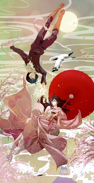 Tags: Anime, Pixiv Id 2774553, Noragami, Yato (Noragami), Iki Hiyori, Crane, Pixiv, Fanart, Fanart From Pixiv