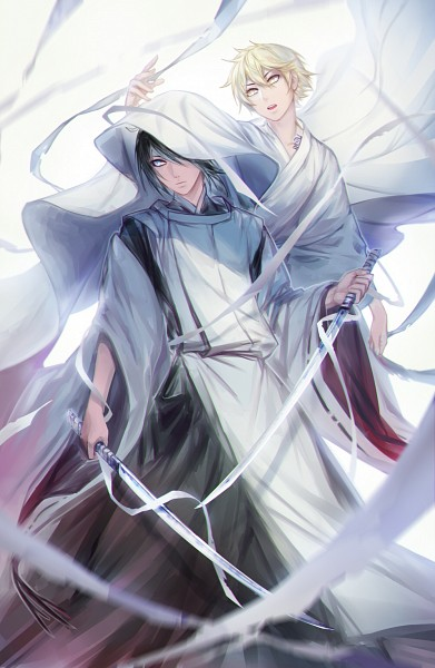 Tags: Anime, avodkabottle, Noragami, Yukine (Noragami), Yato (Noragami), deviantART, Fanart, Fanart From DeviantART, Mobile Wallpaper, PNG Conversion