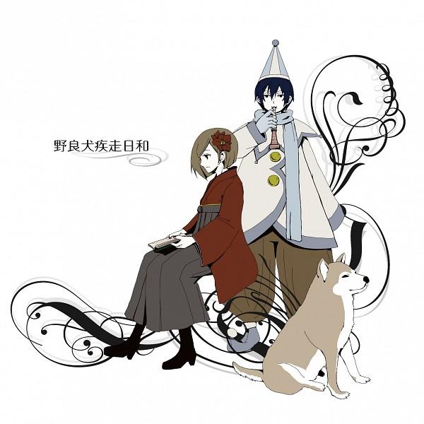 Tags: Anime, VOCALOID, MEIKO (VOCALOID), KAITO, Norainu Shissou Biyori, Fair Weather For The Stray Dog To Run