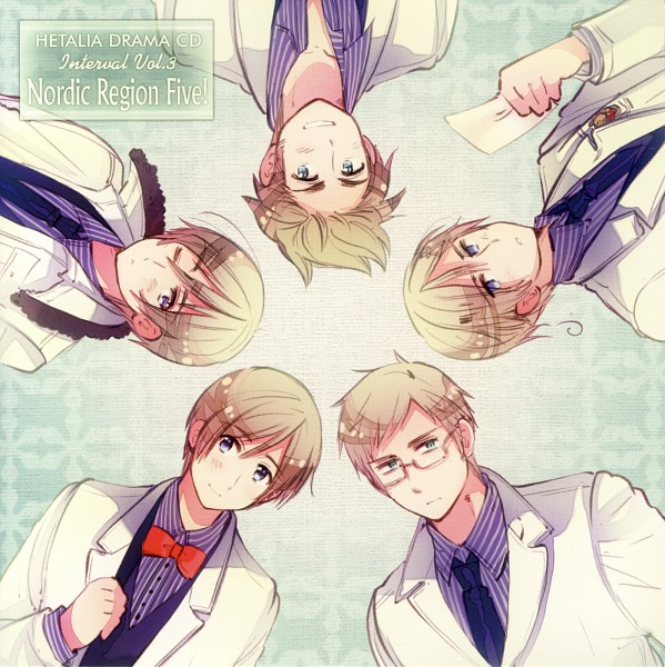 Tags: Anime, Himaruya Hidekaz, Axis Powers: Hetalia, Sweden, Denmark, Iceland, Norway, Finland, CD (Source), Drama CD, Nordic Countries