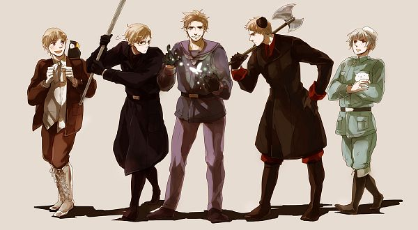 Tags: Anime, Neghy, Axis Powers: Hetalia, Hanatamago, Finland, Sweden, Iceland, Denmark, Mr. Puffin, Norway, Puffin, Pixiv, Facebook Cover