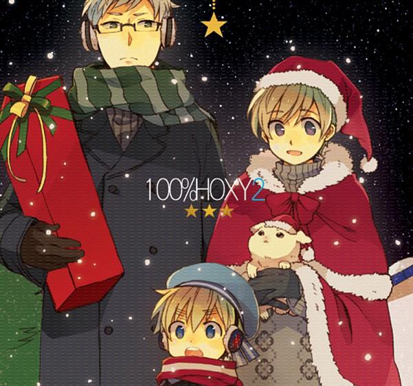 Tags: Anime, Pixiv Id 1306783, Axis Powers: Hetalia, Pixiv 100% Hoxy, Hanatamago, Finland, Sweden, Sealand, Nordic Countries