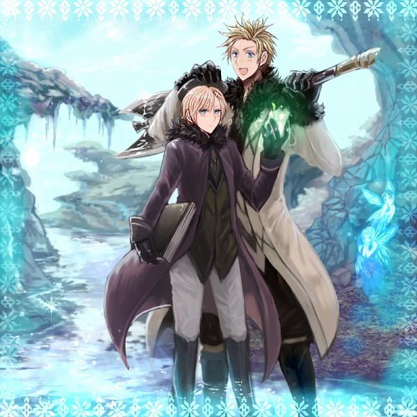 Tags: Anime, 聖祐, Axis Powers: Hetalia, Norway, Denmark, Nordic Countries