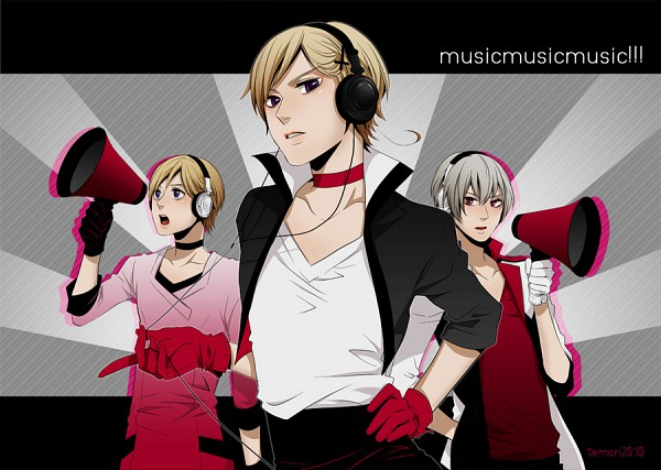 Tags: Anime, Axis Powers: Hetalia, VOCALOID, Iceland, Norway, Finland, Nordic Countries