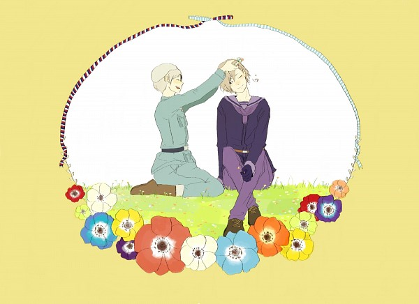Tags: Anime, Kmmmmn, Axis Powers: Hetalia, Norway, Finland, Fanart, Nordic Countries