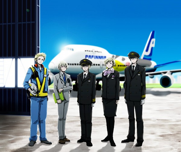 Tags: Anime, Axis Powers: Hetalia, Denmark, Iceland, Norway, Finland, Sweden, Nordic Countries