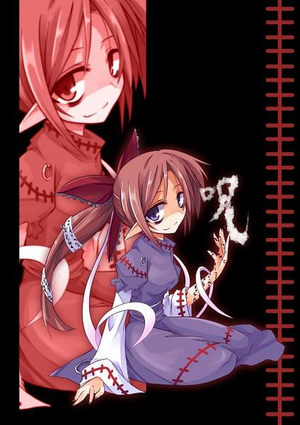 Tags: Anime, Pixiv Id 465582, Touhou, Noroiko, Shaded Face, Bags Under Eyes, Pixiv, PC-98 Touhou Era, Fanart, Fanart From Pixiv