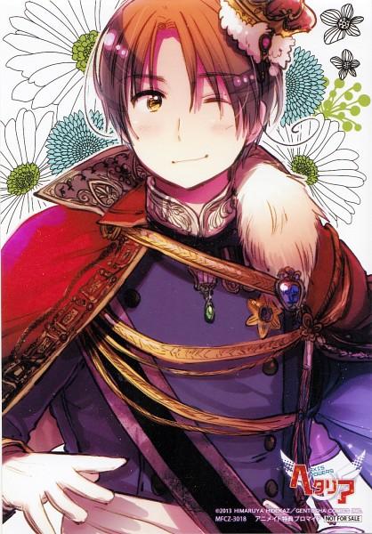 Tags: Anime, Himaruya Hidekaz, Axis Powers: Hetalia, North Italy, Mini Crown, Scan, CD (Source), Official Art, Mobile Wallpaper, Mediterranean Countries