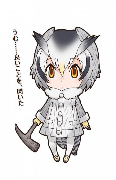 Northern White-faced Owl (Kemono Friends) - Kemono Friends