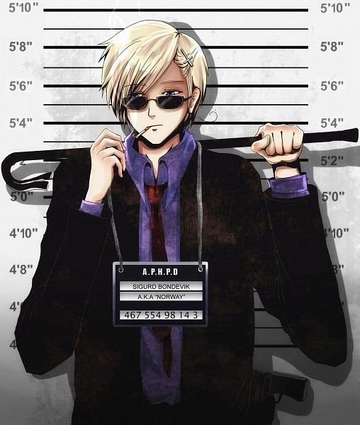 Tags: Anime, Jorael, Axis Powers: Hetalia, Norway, Height Chart, Identity Parade, Label, Nordic Countries