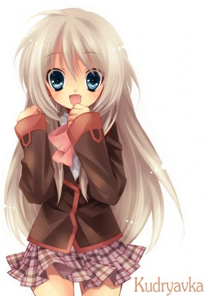 Tags: Anime, Sakura Neko, Little Busters!, Noumi Kudryavka, Mobile Wallpaper, Pixiv