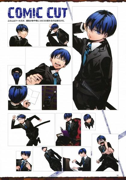 Tags: Anime, Sarachi Yomi, La storia della Arcana Famiglia, Nova (Arcana Famiglia), Official Art, Mobile Wallpaper, Scan