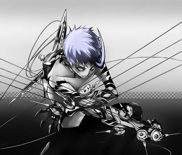 Tags: Anime, Air Gear, Nue (Air Gear), Machine, Regalia