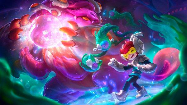 Tags: Anime, Riot Games, League of Legends, Nunu (League of Legends), Willump, Disco Ball, Disco Light, Yeti, 2560x1440 Wallpaper, HD Wallpaper, Wallpaper, Official Art