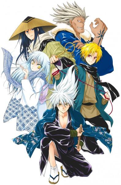 Tags: Anime, Nurarihyon no Mago, Yuki Onna (Nurarihyon), Kubinashi, Nura Rikuo (Youkai), Aotabou (Nurarihyon no Mago), Kurotabo (Nurarihyon no Mago), Yuki Onna, Pixiv, Nura Rikuo, Nura: Rise Of The Yokai Clan