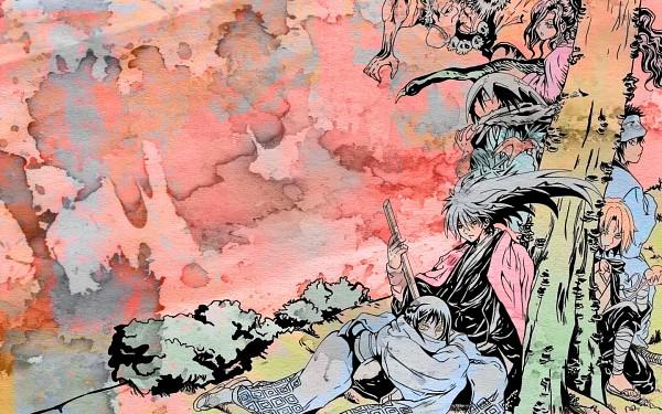 Tags: Anime, Nurarihyon no Mago, Kappa (Nurarihyon no Mago), Oikawa Tsurara, Aotabou (Nurarihyon no Mago), Yuki Onna (Nurarihyon), Kubinashi, Nura Rikuo (Youkai), Kejourou, Wallpaper, Nura Rikuo, Nura: Rise Of The Yokai Clan