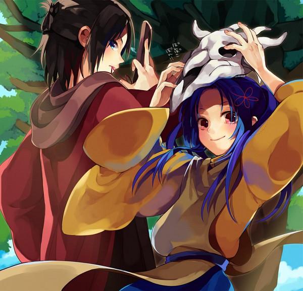 Tags: Anime, Nurarihyon no Mago, Gozumaru, Mezumaru, Pixiv, Nura: Rise Of The Yokai Clan