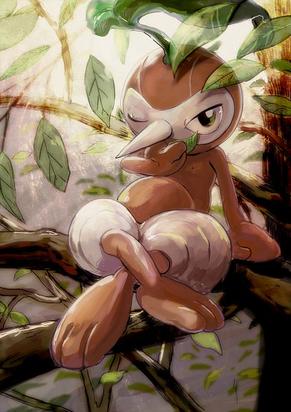 Nuzleaf - Pokémon