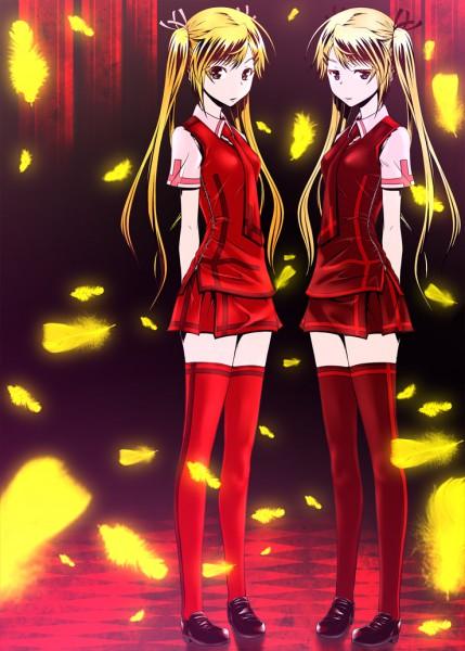 Tags: Anime, Zucchini, Nyan Koi!, Kirishima Akari, Kirishima Kotone