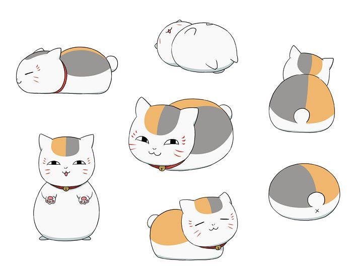Tags: Anime, Koitsuuu, Natsume Yuujinchou, Nyanko-sensei, Fanart, Pixiv