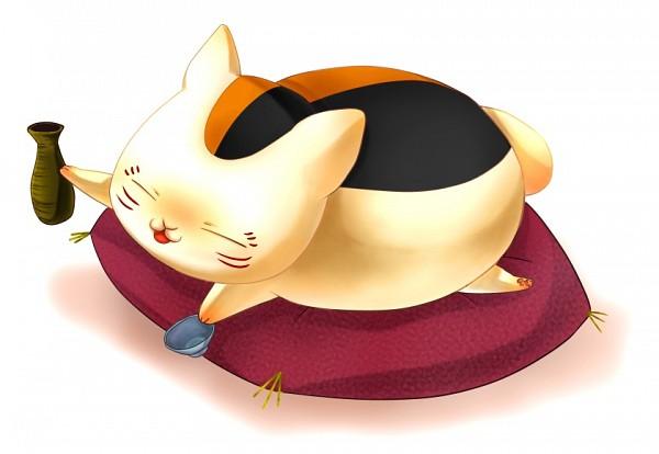 Tags: Anime, Pixiv Id 3141259, Natsume Yuujinchou, Nyanko-sensei, Fanart From Pixiv, Fanart, PNG Conversion, Pixiv
