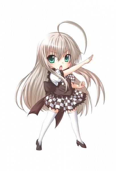Tags: Anime, Kuena, Haiyore! Nyaruko-san, Nyarlko, Mobile Wallpaper