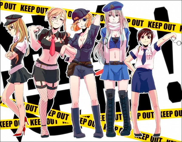 Tags: Anime, Kiyomura, Axis Powers: Hetalia, Russia (Female), United States (Female), United Kingdom (Female), China (Female), France (Female), Nyotalia, Pixiv