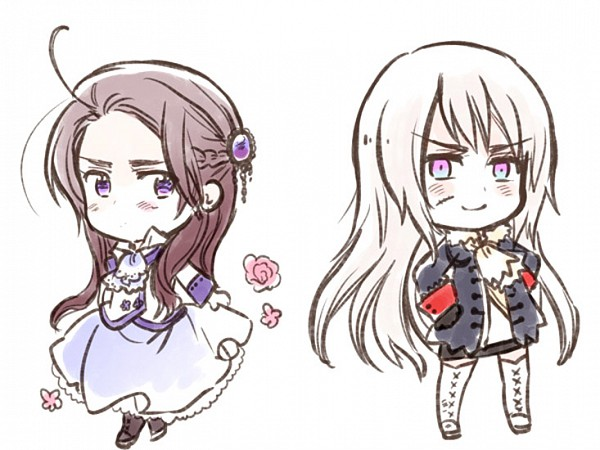 Tags: Anime, Himaruya Hidekaz, Axis Powers: Hetalia, Austria (Female), Prussia (Female), Nyotalia, Official Art