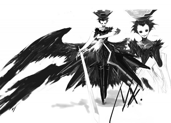 Tags: Anime, Shin Megami Tensei: PERSONA 3, Nyx Avatar