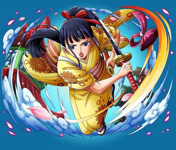 Tags: Anime, ONE PIECE, ONE PIECE: Treasure Cruise, O-kiku, One Piece: Two Years Later, Official Art, Wano Kuni