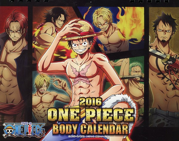 ONE PIECE: Body Calendar 2016 - ONE PIECE