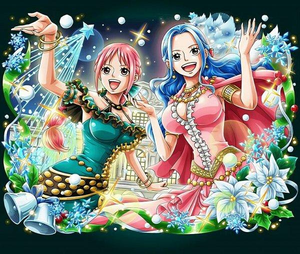 Tags: Anime, ONE PIECE, ONE PIECE: Treasure Cruise, Rebecca (ONE PIECE), Nefertari Vivi, Official Art
