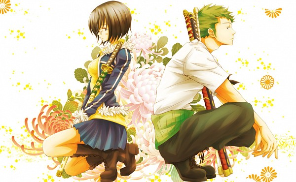 Tags: Anime, Kigisu, ONE PIECE, Tashigi, Roronoa Zoro, The Eleven Supernovas, Straw Hat Pirates