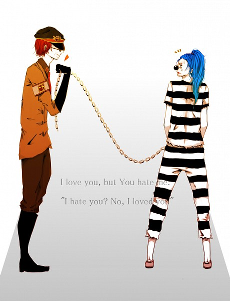Tags: Anime, Pixiv Id 995239, ONE PIECE, Buggy the Clown, Shanks, Prison Outfit, Red Hair Pirates