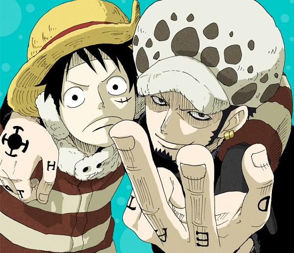 Tags: Anime, Mosamosa, ONE PIECE, Trafalgar Law, Monkey D. Luffy, One Piece: Two Years Later, Fanart, Pixiv, Fanart From Pixiv