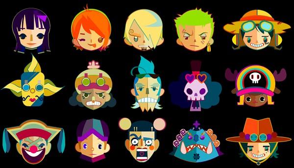 Tags: Anime, Kingkaiser, ONE PIECE, Strong World, Monkey D. Luffy, Sanji, Mr. 2 Bon Clay, Usopp, Nami (ONE PIECE), Brook, Roronoa Zoro, Jinbei, Buggy the Clown