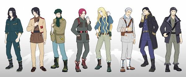 Tags: Anime, Changye, ONE PIECE, Trafalgar Law, Sir Crocodile, Basil Hawkins, Dracule Mihawk, Shanks, Rob Lucci, Smoker (ONE PIECE), Portgas D. Ace, Fanart, Facebook Cover