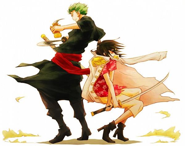 Tags: Anime, Kigisu, ONE PIECE, Tashigi, Roronoa Zoro, One Piece: Two Years Later, Fanart, Pixiv, Marine (ONE PIECE)