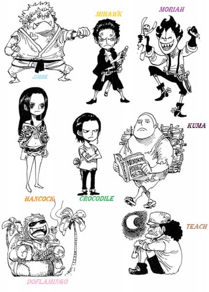 Tags: Anime, Oda Eiichirou, ONE PIECE, Sir Crocodile, Marshall D. Teach, Gecko Moria, Jinbei, Donquixote Doflamingo, Dracule Mihawk, Boa Hancock, Bartholomew Kuma, Mobile Wallpaper, Official Art