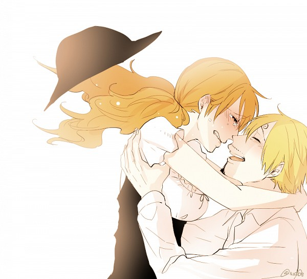 Tags: Anime, Pixiv Id 520618, ONE PIECE, Sanji, Nami (ONE PIECE), One Piece: Two Years Later, Fanart, Pixiv, Fanart From Pixiv, SaNa (Pairing)