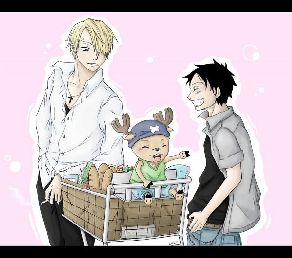 Tags: Anime, ONE PIECE, Sanji, Tony Tony Chopper, Monkey D. Luffy, Straw Hat Pirates