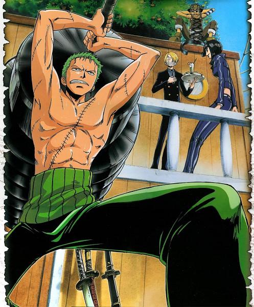 Tags: Anime, ONE PIECE, Sanji, Usopp, Roronoa Zoro, Nico Robin, Official Art, Straw Hat Pirates, The Eleven Supernovas