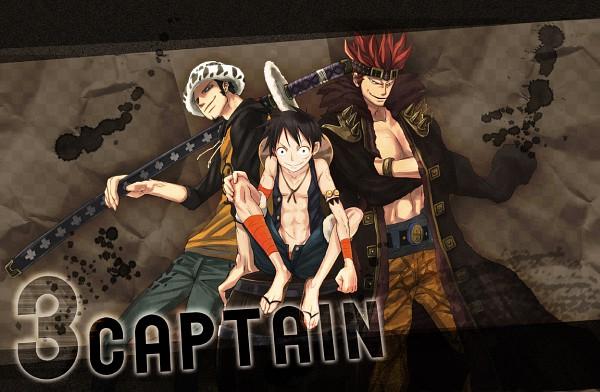 Tags: Anime, Pixiv Id 568911, ONE PIECE, Trafalgar Law, Monkey D. Luffy, Eustass Kid, Straw Hat Pirates, The Eleven Supernovas