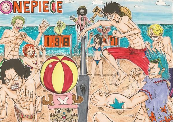 Tags: Anime, ONE PIECE, Tony Tony Chopper, Franky, Monkey D. Luffy, Sanji, Usopp, Nami (ONE PIECE), Roronoa Zoro, Brook, Nico Robin, Artist Request, The Eleven Supernovas