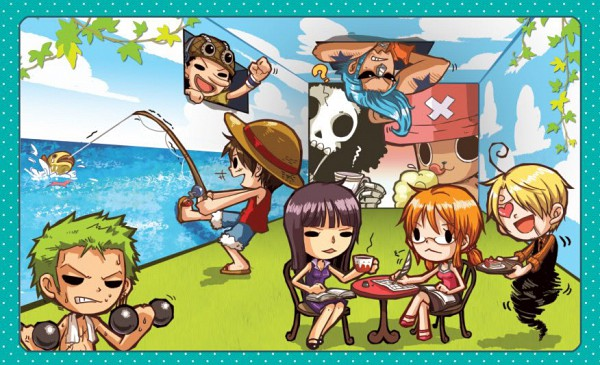 Tags: Anime, Ramga, ONE PIECE, Tony Tony Chopper, Franky, Monkey D. Luffy, Sanji, Usopp, Nami (ONE PIECE), Roronoa Zoro, Brook, Nico Robin, Straw Hat Pirates